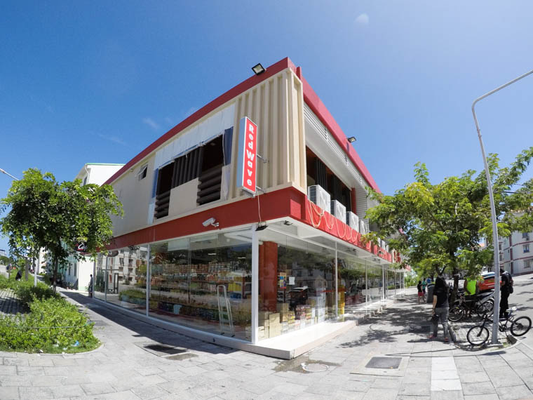 redwave supermarket in hulhumale