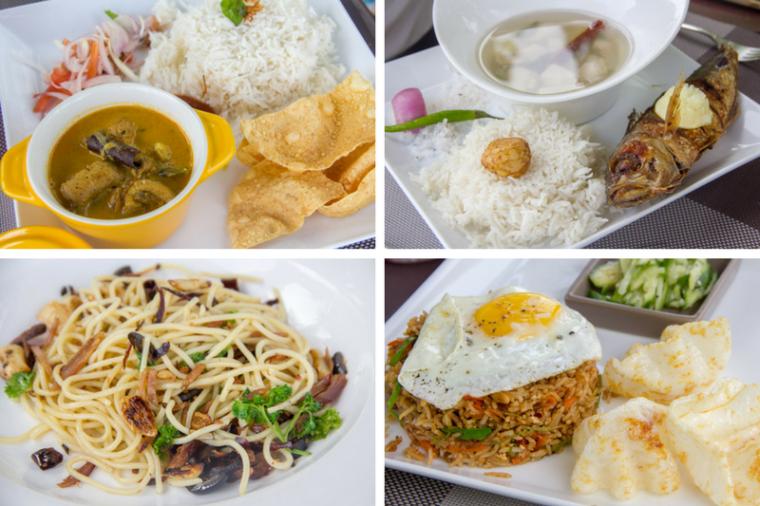 Kaalama Restaurant Food, Velana Beach Maldives